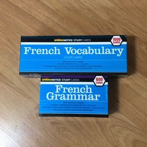 Sparknotes French Study Cards